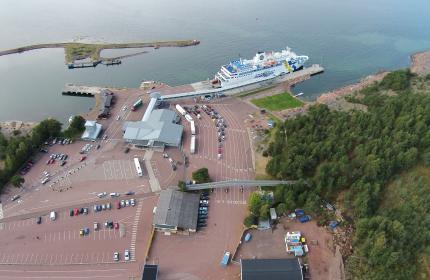 Hamnanläggning Berghamn