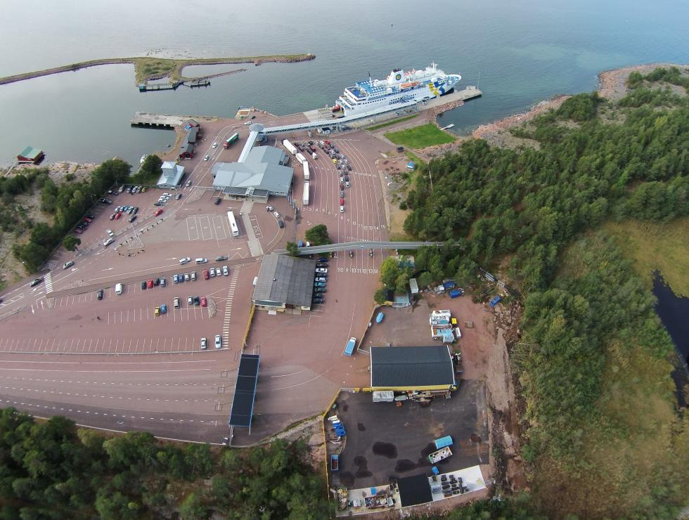 Eckerölinjens hamn
