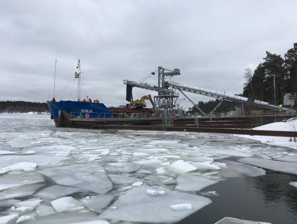 Norra 302 hamnen i drift
