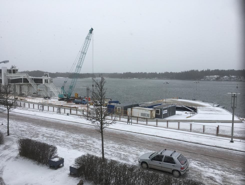 Kaj 3 Västra hamnen